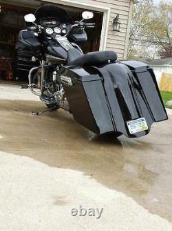 Harley Davidson Road Glide 6 Stretched Rear Fender, Fiberglass FLTR Bagger