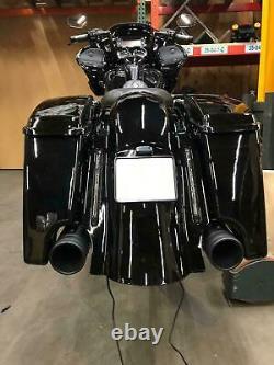 Harley-Davidson Touring Bagger STRETCHED +5'' mit lichte 3in1 hintere Fender