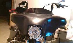 Harley Fairing Batwing Fatboy Fat boy Lo Bagger 6x9 Cut Outs Davidson Fairing