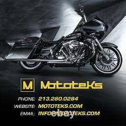 Harley Fat Spoke Wheel 26x3.5 40 Fat Stainless Spokes Touring Bagger USA Built