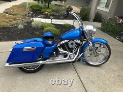 Harley Road King Touring Electra Glide Classic Bagger Front 23 Fender Gelcoat