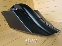 Harley Touring Custom Bagger Angled 6 Stretched Saddlebags and Fender 1997-2008