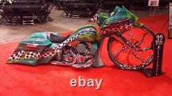 Harley bagger 32'' Roxxy 7 wheel street glide road king ultra classic