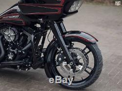 Harley-davidson 19 Front Wrap Fender Kit Bagger 14-20 All Touring Flh Flhx Fltr