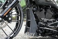 Harley-davidson Bagger M8 Touring Radiator Cover / Chin Spoiler 2017-2020 Flh