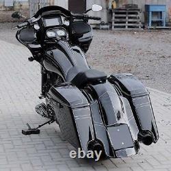 Harley-davidson Extended Bagger Rear Fender 2009-2020 Flh Flhx Fltr Flhr Touring