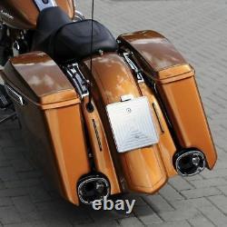 Harley-davidson Extended Bagger Rear Fender 2009-2021 Flow Flh Flhx Flhr Fltr