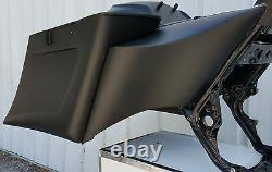 Harley davidson bagger side covers for stretched saddlebags 2009-2013 custom flh