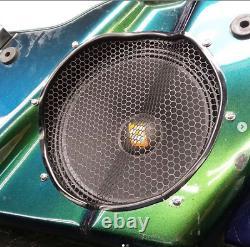 Harley saddlebag 10 speaker rings & install kit 1994-2013 SPL BAGGER AUDIO