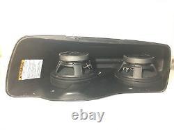Harley saddlebag 8 QUAD speaker rings & install kit 1994-2013 SPL BAGGER AUDIO
