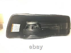 Harley saddlebag 8 front speaker rings & install kit 2014-2020 SPL BAGGER AUDIO