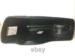 Harley saddlebag 8 rear speaker rings & install kit 2014-2020 SPL BAGGER AUDIO