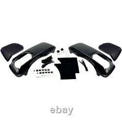 HogTunes Ht-Lid 6X9 Speaker Lid Saddlebag Set Kit Bagger 98-13 Harley FLH/T