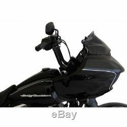 Klock Werks 9 Black Sport Flare Bagger Windshield Harley Road Glide 2015-2020