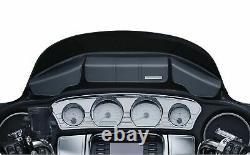Kuryakyn Batwing Fairing Windshield 3 Pocket Pouch Bag Harley Touring Bagger 14+