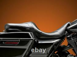 Le Pera LePera Sorrento Stitch Two 2 Up Seat 08-20 Harley Touring Bagger Dresser