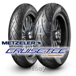 Metzeler Cruisetec Mt90b16 Front Mu85b16 Rear Tire Set Harley Touring Bagger