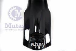 Mutazu Black Touring Extended Stretched Fender fits 98-13 Harley Bagger FLH FLT