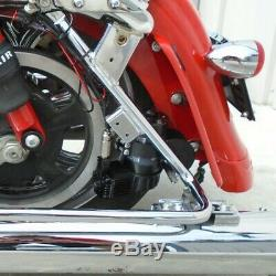 New Dirtyworks Dirty Air Fast-Up Rear Bagger Complete Air Ride Kit Harley FLH