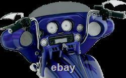 Paul Yaffe Chrome 12 Classic Ape Hanger Handlebars Harley Touring Bagger 96-20