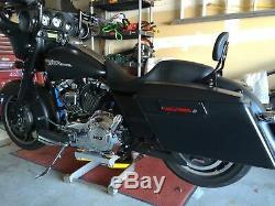 Paul Yaffe Originals Black 10 Monkey Bar Bars Handlebars Harley Touring Bagger