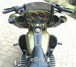 Paul Yaffe Originals Black 14 Monkey Bar Apes Handlebars Harley Touring Bagger