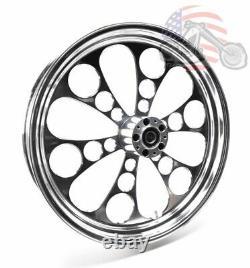 Polished Kool Kat 21 X 3.5 Billet Front Wheel Rim Harley Touring Bagger 84-2007