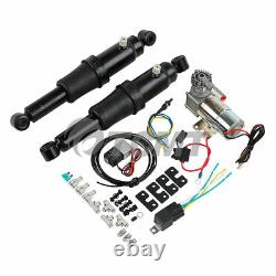 Rear Air Ride Suspension Kit For Harley Touring Bagger Road Glide King 1994-2021