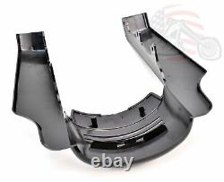 Rear Stretched Angled Fender Extensions Harley 09-2013 Touring Bagger Dresser