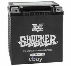 Shocker AGM Glass Mat Gel Battery Harley Touring Bagger Dresser 440 CA 66010-97A