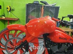 Street Glide Fairing with 6.5 speakers Harley Davidson Flh Bagger Raked