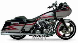 Supertrapp Kerker 4 Slip On Mufflers Exhaust 2010-2016 Harley Touring Bagger FL