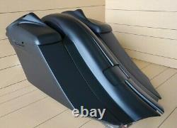 Tweeter 8 Lids, 7harley Davidson Touring Saddlebags And Rear Fender Bagger Kit