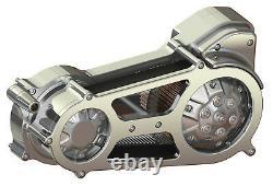 Ultima Polished 2 Bagger Belt Drive for 1990-2006 Harley FLT, FLH, & FXR Models