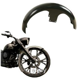 Unpainted 6 Front Fender Fit For Harley 26 Wheel Bagger Touring Street Glide